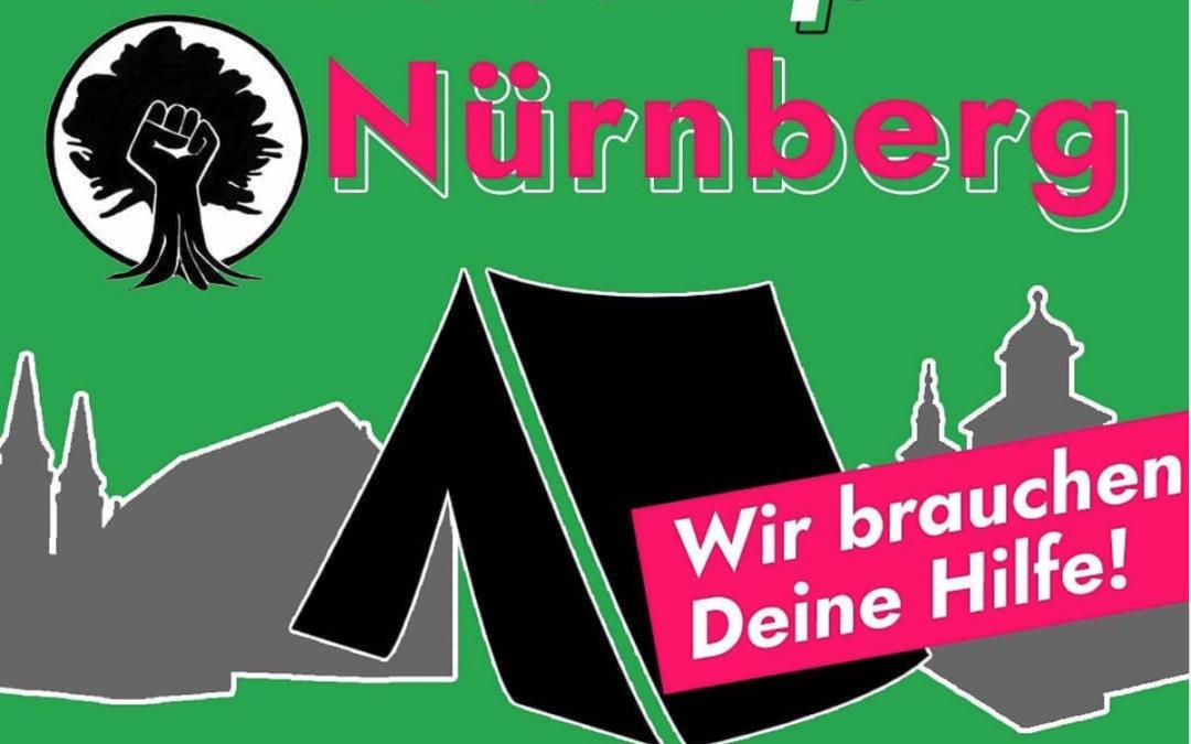 Es ist Klimacamp in Nürnberg!